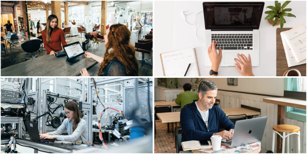 Business Internet Collage